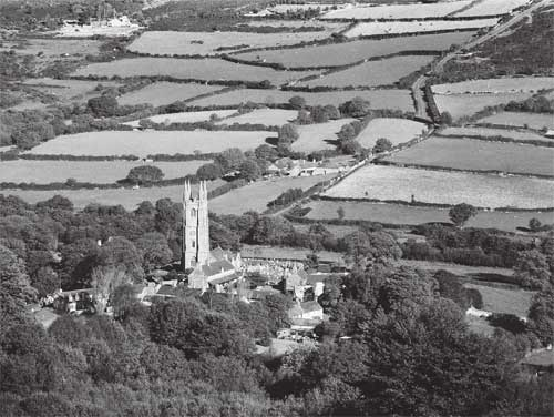 Widecombe on Dartmoor